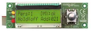 dmx startadressboard 3006p