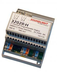 dmx relais 3202r-h