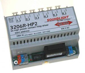 dmx relais relais 3206r-hp2
