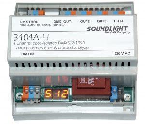 dmx splitter 3404a-h