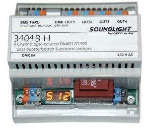 dmx splitter 3404b-h