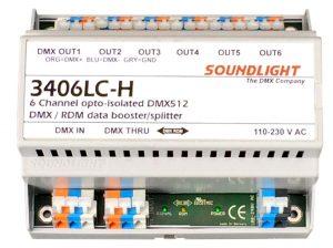 dmx splitter 3406lc-h