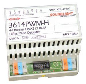 dmx led driver 3614pwm-h