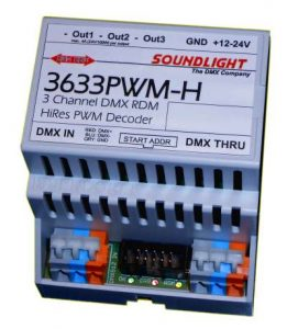 dmx led driver 3633pwm-h