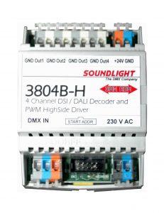 dmx dsi dali decoder 3804b-h