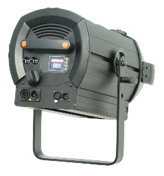 Fresnel LED 300W 6 Colours_hinten