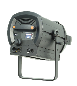 Fresnel LED 300W Pure White_hinten