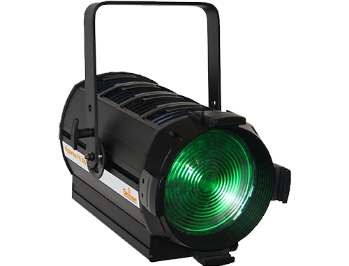 Hyperion Fresnel LED 300W 6 Colours RGBACL