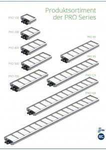 Produktsortiment PRO Series
