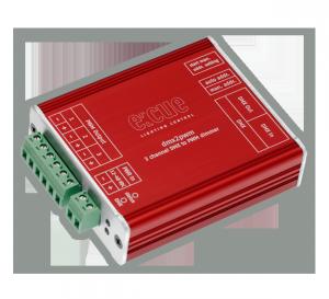 e:cue Interfaces: DMX2PWM 3CH Dimmer