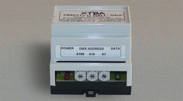DMX2DALI - XTBA