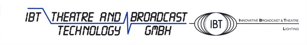 Logo IBT Theatres and Broadcast Technology GmbH